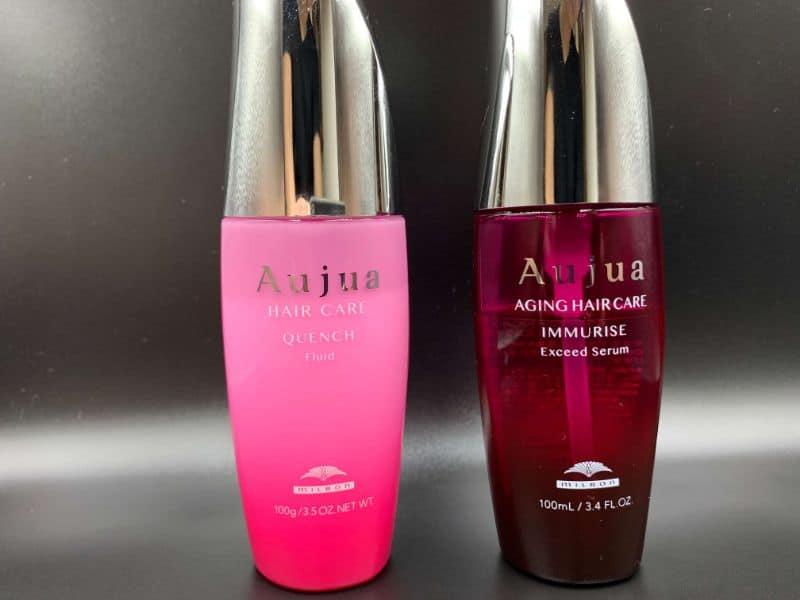 【洗い流さないトリートメント】「Aujua(オージュア)」のイミュライズを美容師が実際に使ったレビュー記事