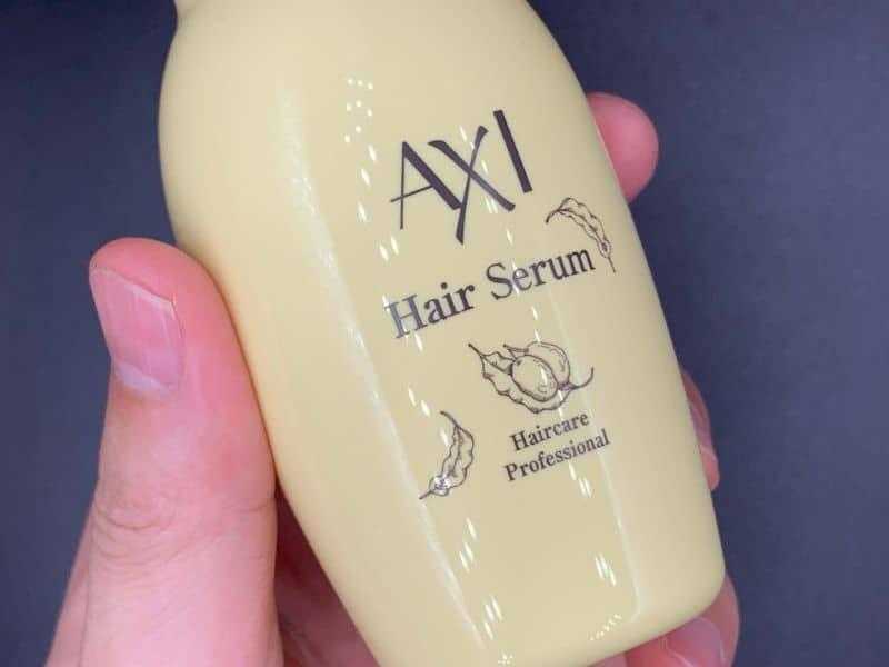 【洗い流さないトリートメント】クオレ「AXI(アキシ)」のシアオイルを美容師が実際に使ったレビュー記事